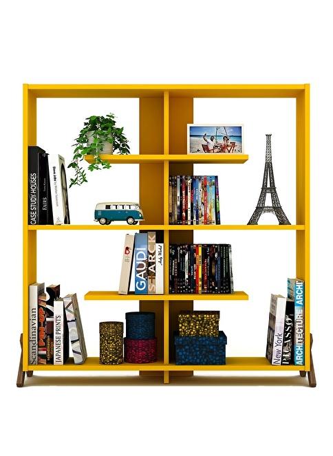 Rafevi Kipp Kitaplık Sarı